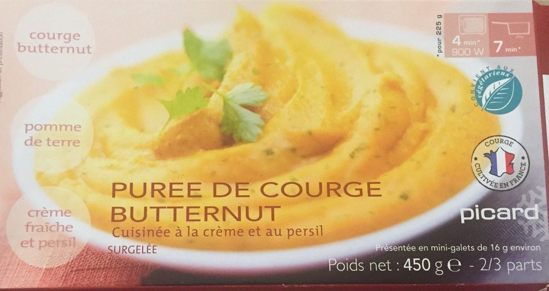 Puree de courge butternut - Produit