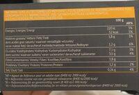 Puree de courge butternut - Informations nutritionnelles - fr