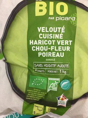 Velouté cuisiné haricot vert chou-fleur poireau - Product
