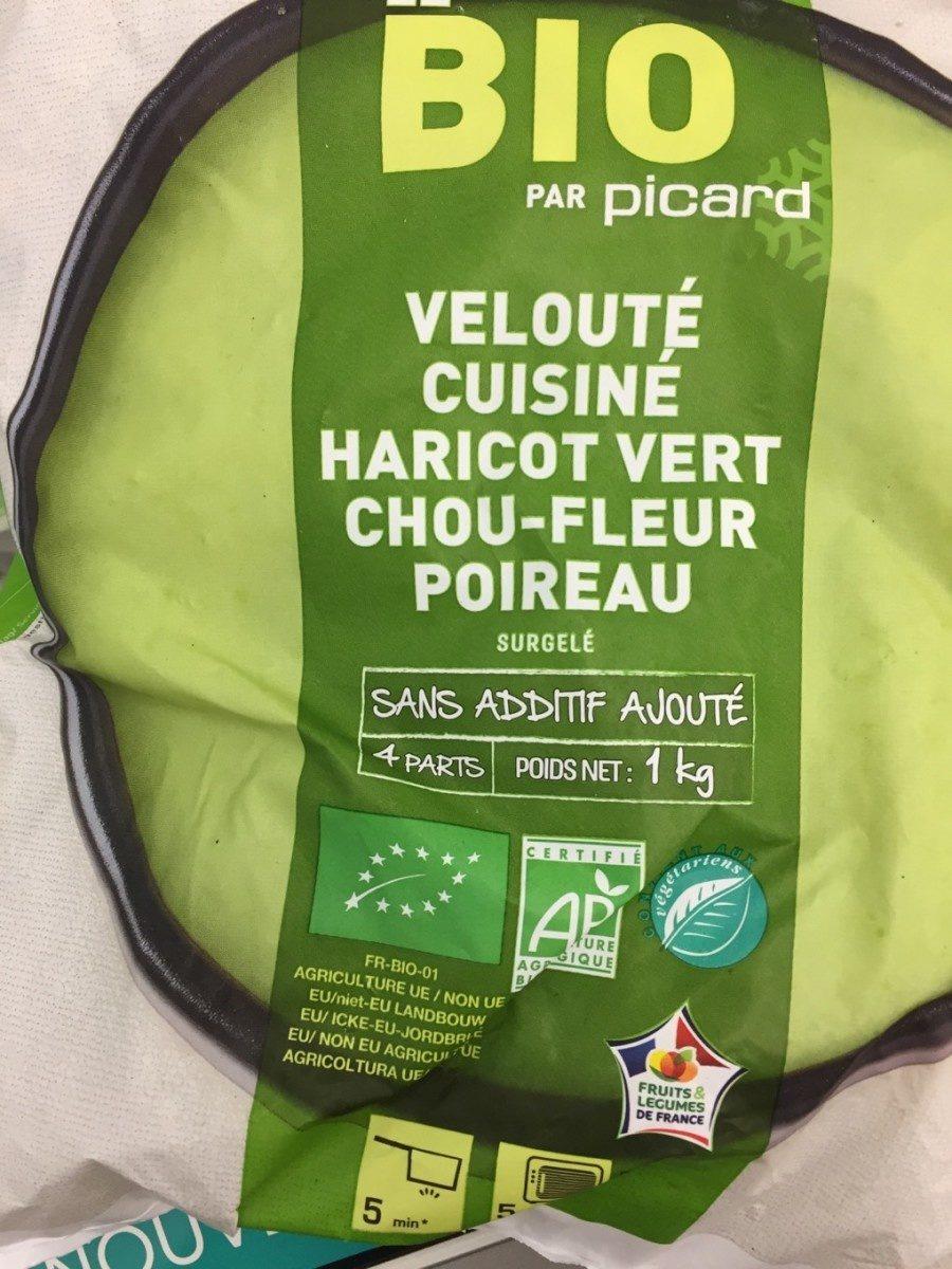 Velouté cuisiné haricot vert chou-fleur poireau - Produit