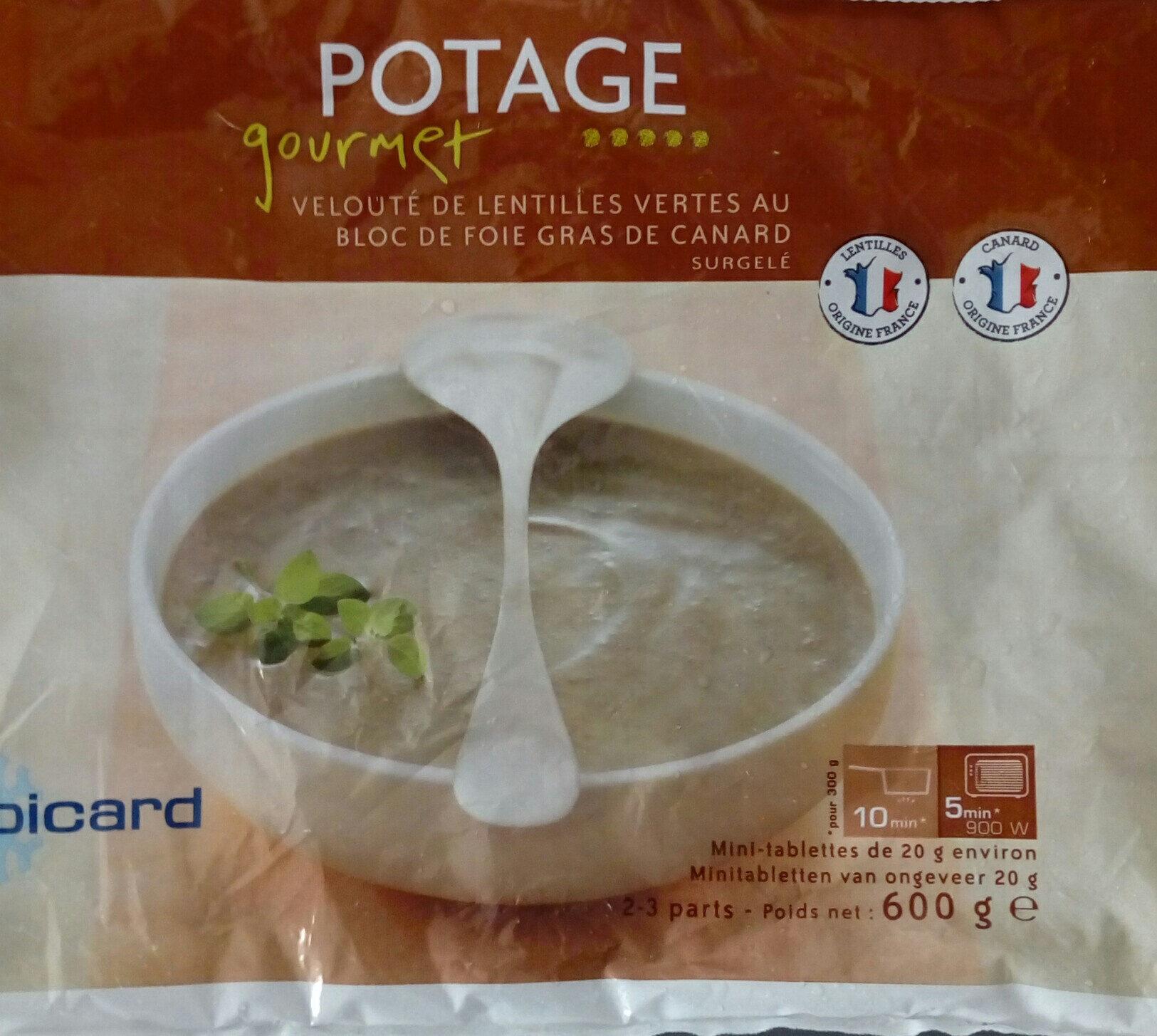 Potage gourmet - Produit - fr