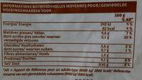 Potage gourmet - Informations nutritionnelles - fr