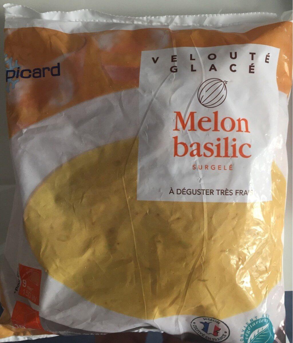 Velouté glacé melon basilic - Product - fr