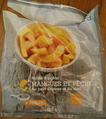 Fruits a Poêler Mangues et Pêches au Pain d'Épices et au Miel - Product