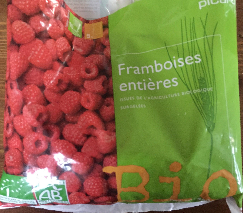 Framboises entières Bio - Product - fr