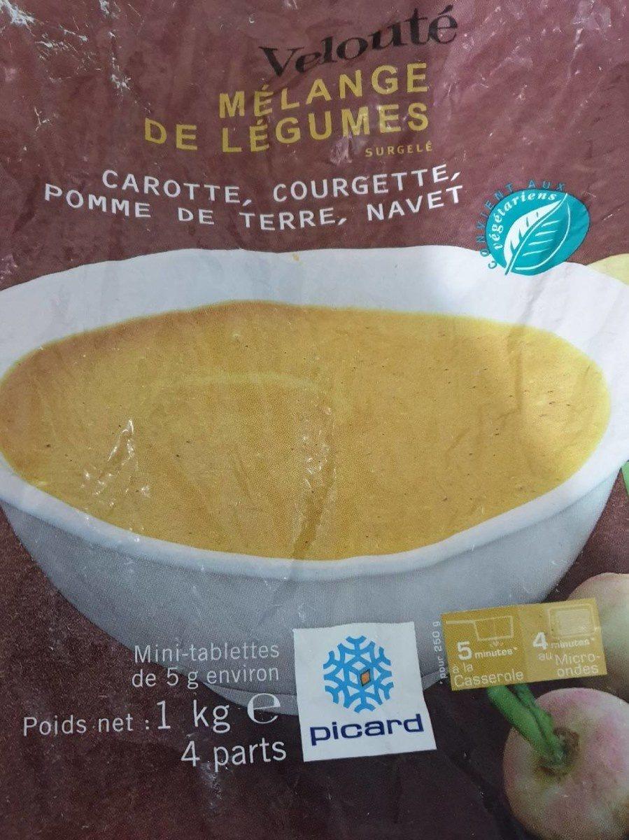 ecb8cedfb04 Velouté mélange de légumes surgelé - Picard - 1 kg