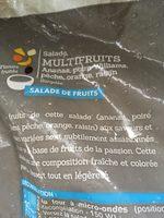 Salade Multifruits - Ingrediënten