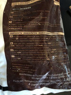Velouté poireaux pommes de terres conté - Ingrédients - fr