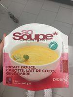 So Soupe Patate Douce, Carotte, Lait de Coco, Gingembre - Produit