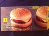 2 Cheeseburgers surgelés - Produit
