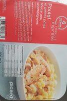 Poulet et petites pâtes sauce aux champignons - Produit - fr