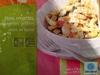 Pâtes, crevettes, courgettes grillées sauce basilic surgelé - Product