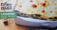 Lasagnes saumon, epinard - Product - fr