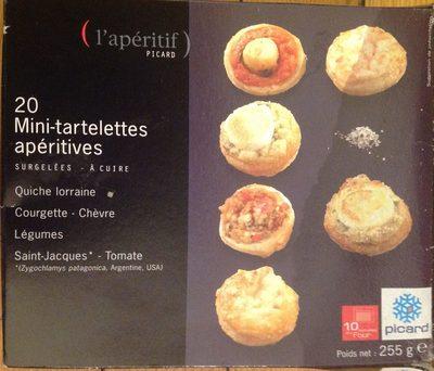 20 Mini-tartelettes Apéritives, Boîte De 255 Grammes - Product