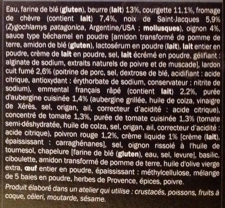 20 Mini-tartelettes Apéritives, Boîte De 255 Grammes - Ingredients