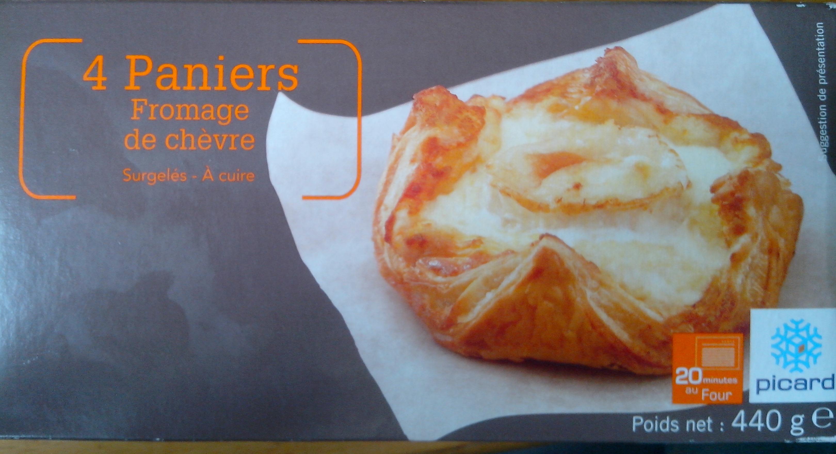 4 Paniers Fromage de chèvre - surgelés - Produkt - fr