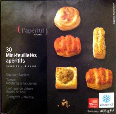 30 Mini-feuilletés apéritifs - surgelés 405 g - Produit - fr