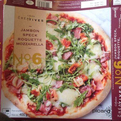 Pizza surgelée Jambon Speck Roquette Mozzarella - Produit