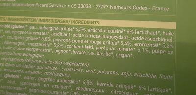 pizza 4  saisons - Ingredientes - fr