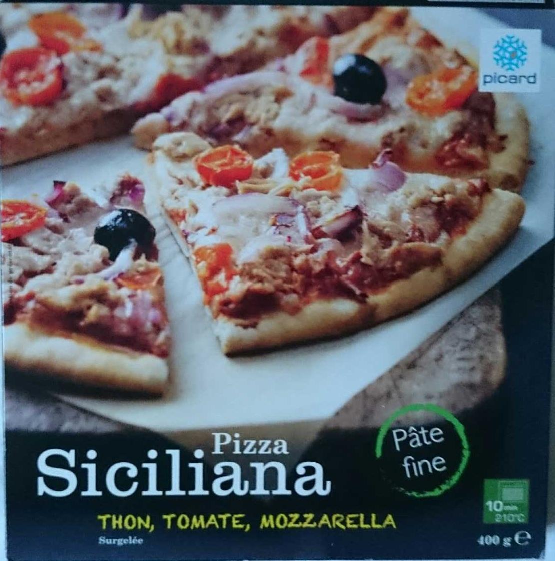 Pizza Siciliana (thon, tomate, mozzarella) - Produit