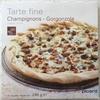 Tarte Fine Champignons - Gorgonzola - Produit
