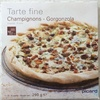 Tarte Fine Champignons - Gorgonzola - Product