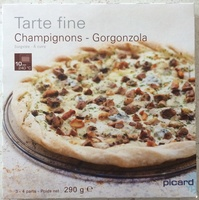 Tarte Fine Champignons - Gorgonzola - Produit - fr