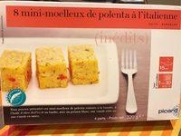 8 Mini-moelleux De Polenta à L'italienne. Boîte De 320 Grammes - Produit
