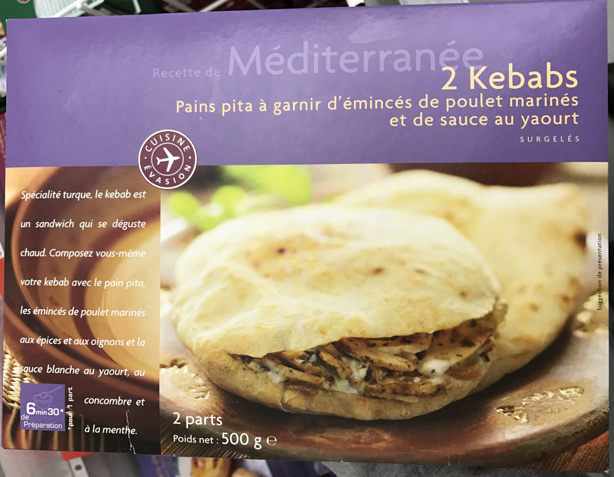 2 Kebabs - Produit - fr