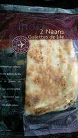 2 Naans - Produit