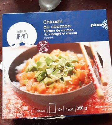 Chirashi au saumon, tartare de saumon, riz vinaigré et avocat - Prodotto - fr