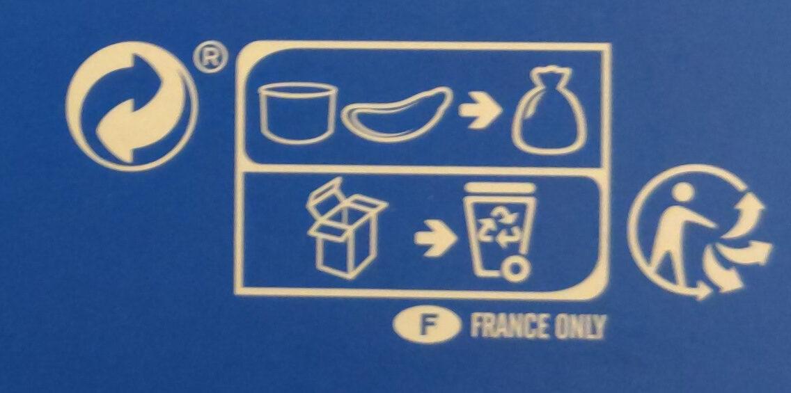 Chirashi au saumon, tartare de saumon, riz vinaigré et avocat - Istruzioni per il riciclaggio e/o informazioni sull'imballaggio - fr