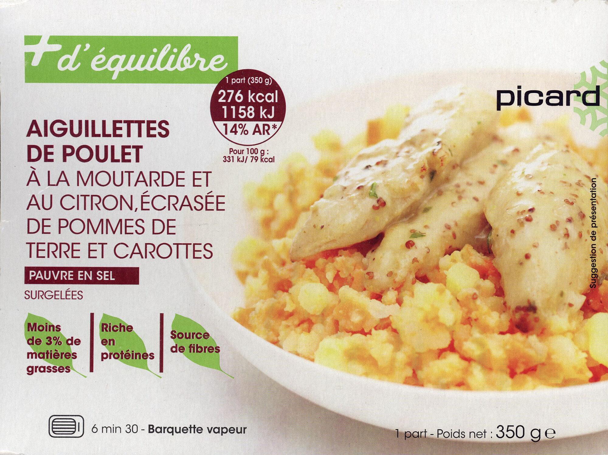 Aiguillettes de poulet à la moutarde - Product