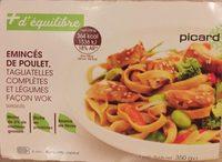 Émincés de poulet tagliatelles complètes et légumes façon wok - Product - fr