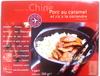 Porc au caramel et riz à la coriandre -