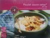 Poulet sauce satay et riz - Product