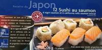 12 sushis au saumons : 6 nigiri saumon et 6 - Product