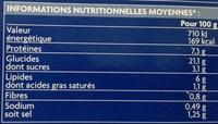 12 sushis au saumons : 6 nigiri saumon et 6 - Nutrition facts