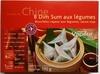 8 Dim Sum aux Légumes - Produit