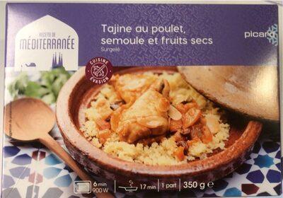Tajine au poulet semoule et fruits secs - Produit - fr