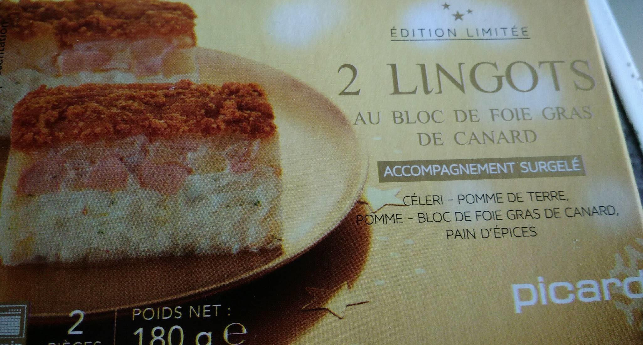 Lingots au bloc de Foie Gras - Product