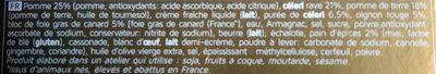Lingots au bloc de Foie Gras - Ingrediënten