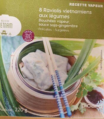 Raviolis vietnamiens aux légumes - Product - fr
