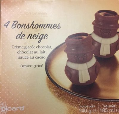 4 Bonshommes de neige - Produit - fr