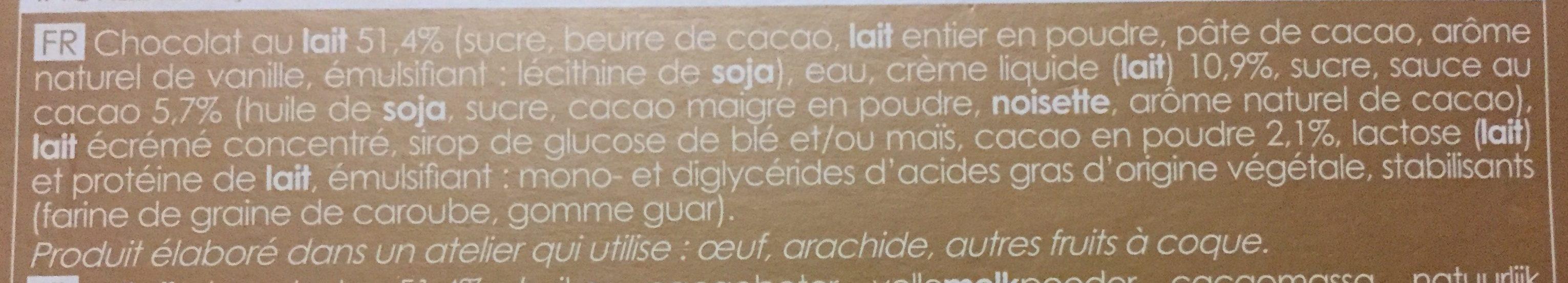 4 Bonshommes de neige - Ingrédients - fr