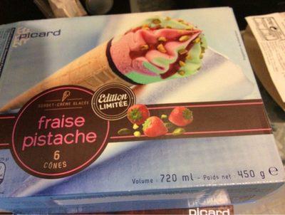 Cones fraise pistache - Product