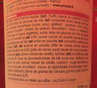 Only Love Crème Glacée Chocolat - Vanille - Ingrediënten