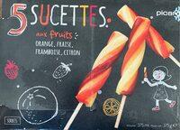 Sucettes aux fruits - Produit - fr