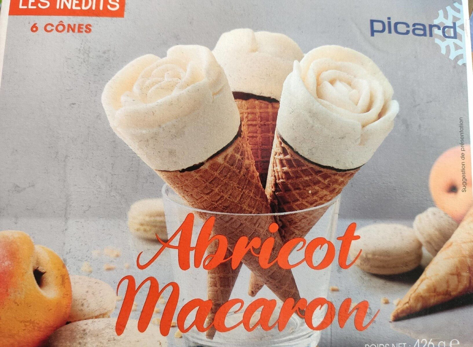 Glace Abricot Macaron - Product - fr