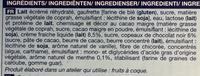 Crème glacée Menthe avec copeaux de Chocolat Noir 6 Cônes - Ingrédients - fr